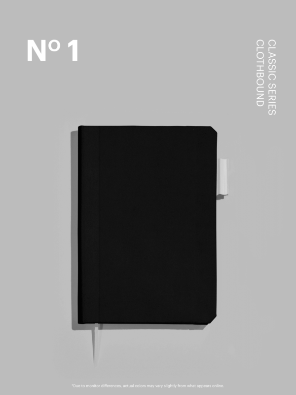 Pitch Black Clothbound Cover