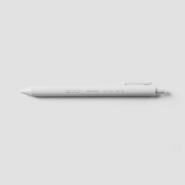 ana tomy Gel Ink Pen - White