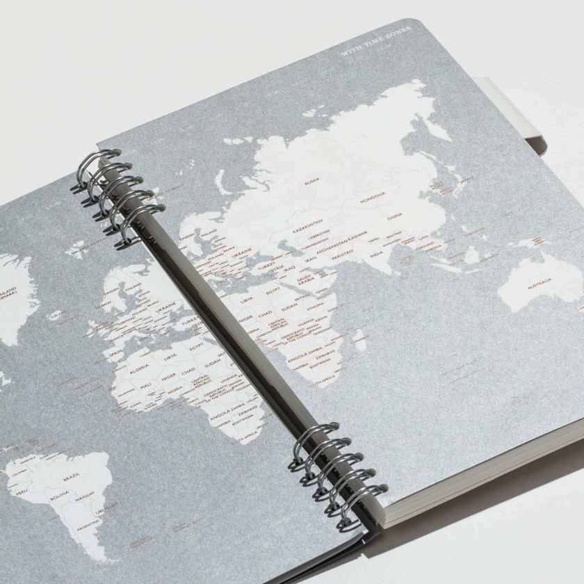Nº1Classic Series - World Map