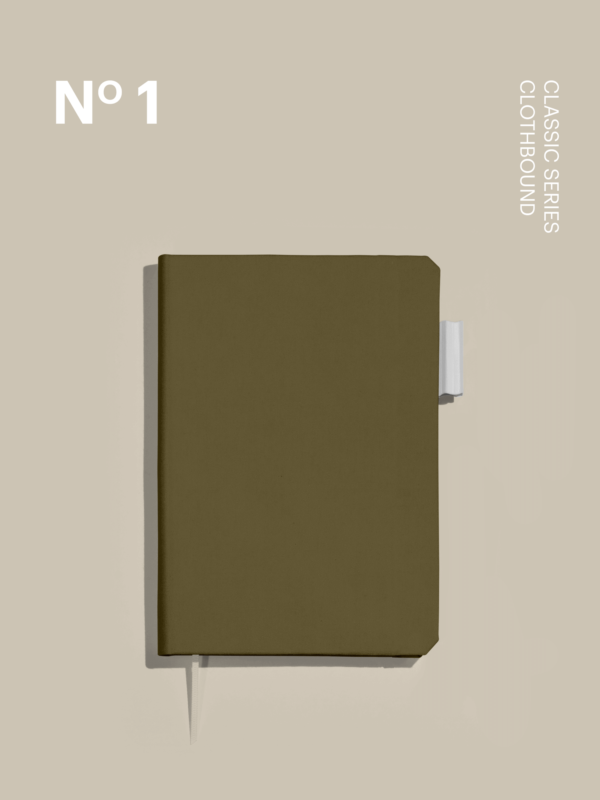 Olive Clothbound Cover