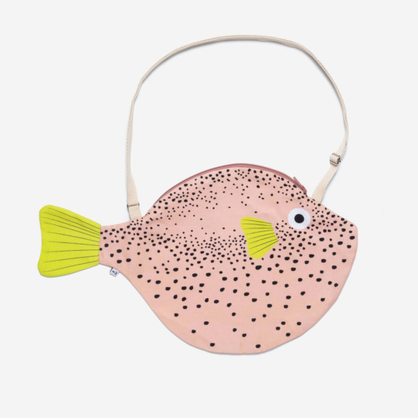 Don Fisher Big Pink Pufferfish