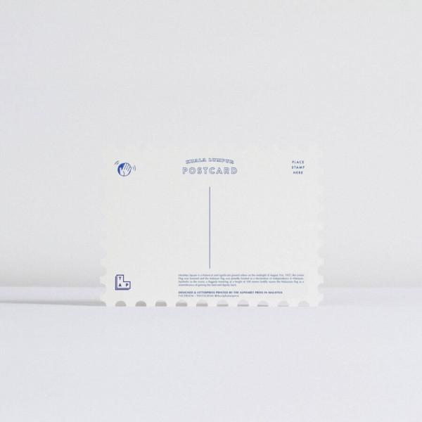 TAP Stamp Postcard - Dataran Merdeka