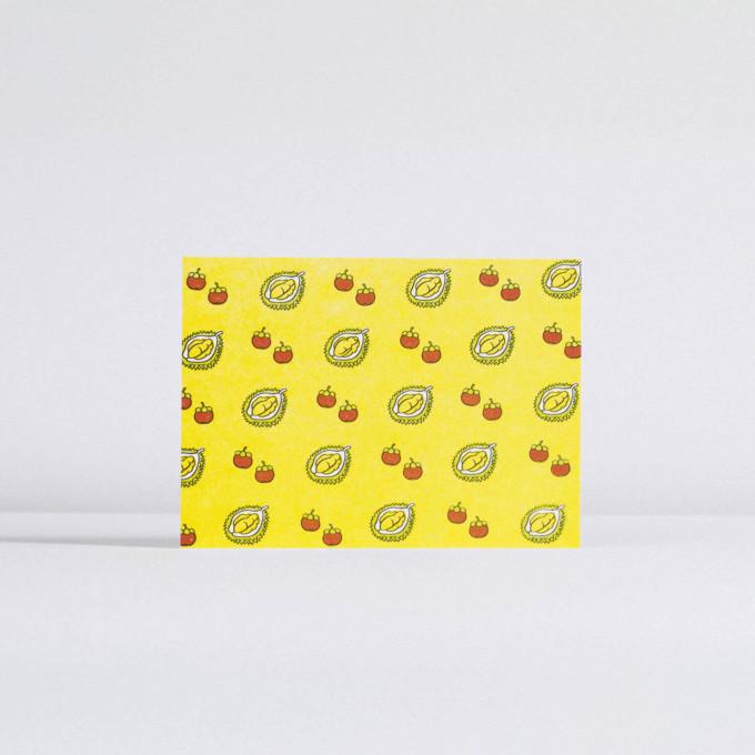 TAP Malaysia Postcard – Durian