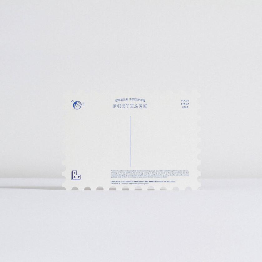 TAP Stamp Postcard – Postmen