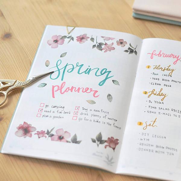 MU Craft: Print-On Sticker (Spring Flower)
