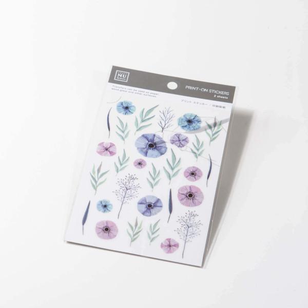 MU Craft: Print-On Sticker (Summer Flower)
