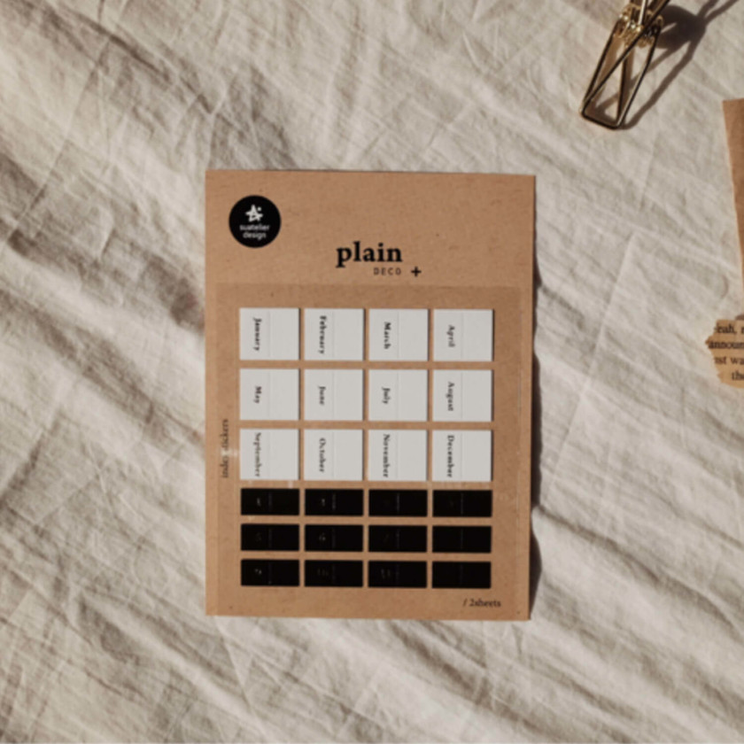 Sautelier Sticker: Plain 44