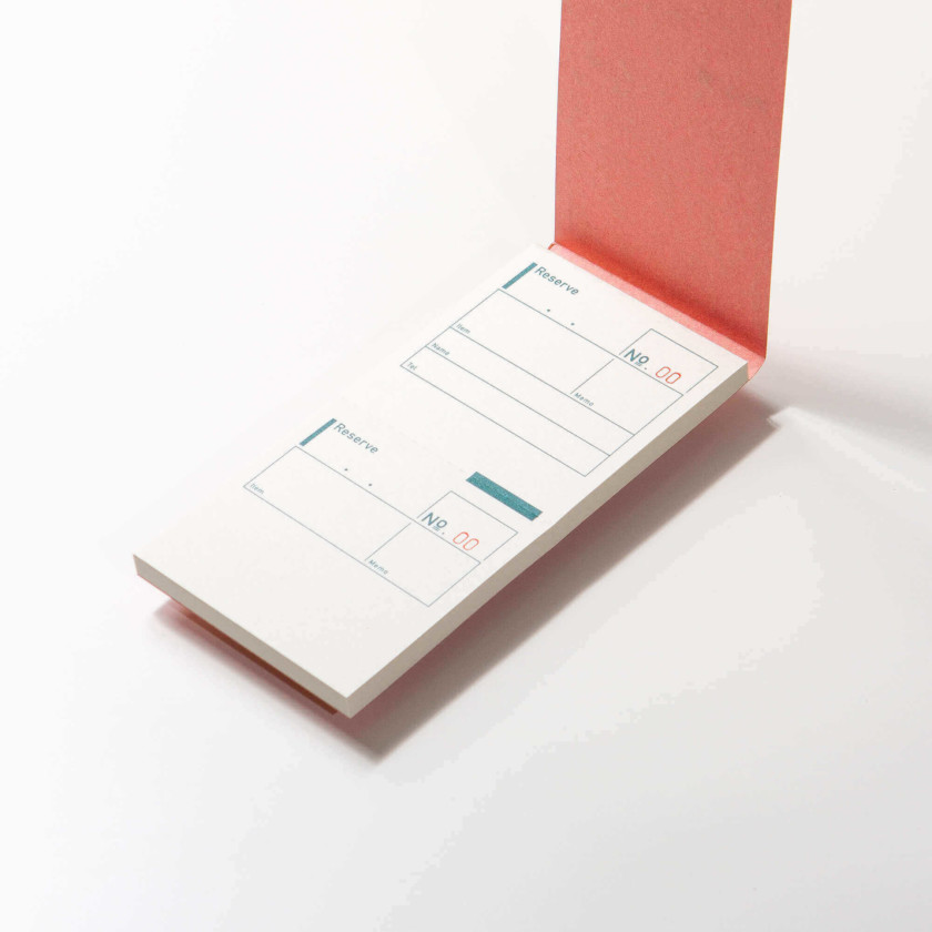Classiky: Reserve Note Slip Pad