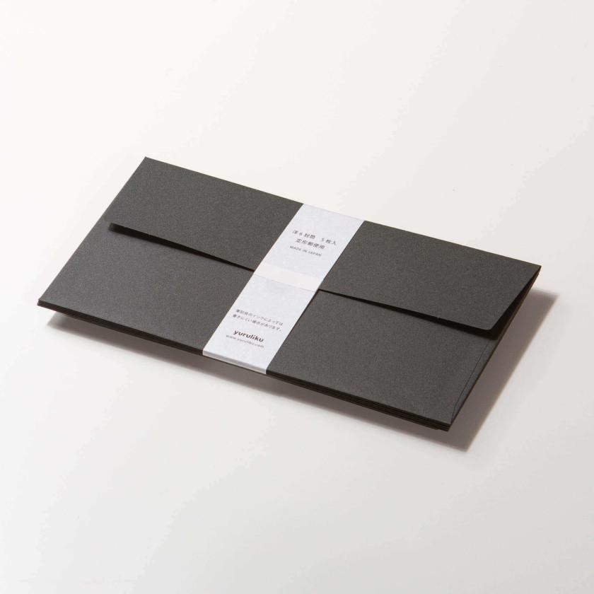 Yuruliku Envelope for Notepad (Black)