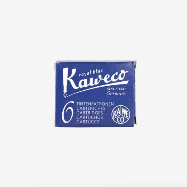 Kaweco: Ink Cartridges 6pcs (Royal Blue)