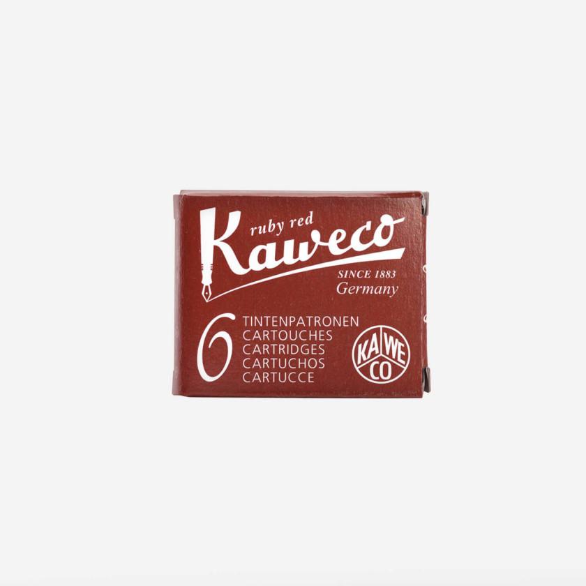 Kaweco: Ink Cartridges 6pcs (Ruby Red)