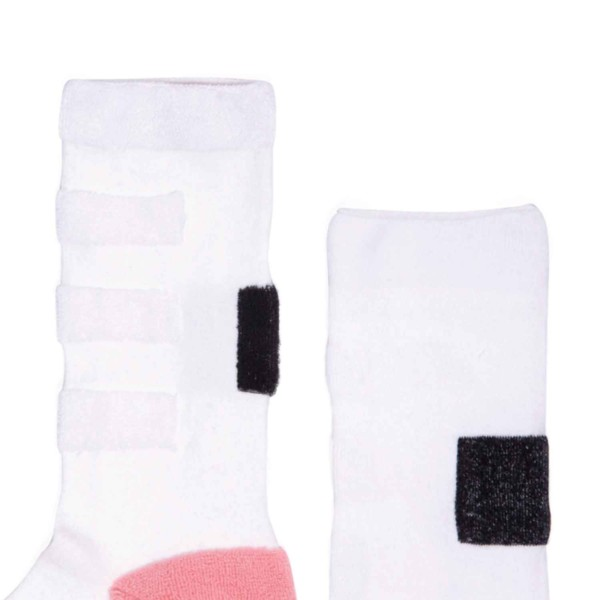 My Inner Beauty : MINDA | Reversible Patterned Socks (Reebok Gold & White)