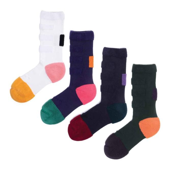 My Inner Beauty : MINDA | Reversible Patterned Socks