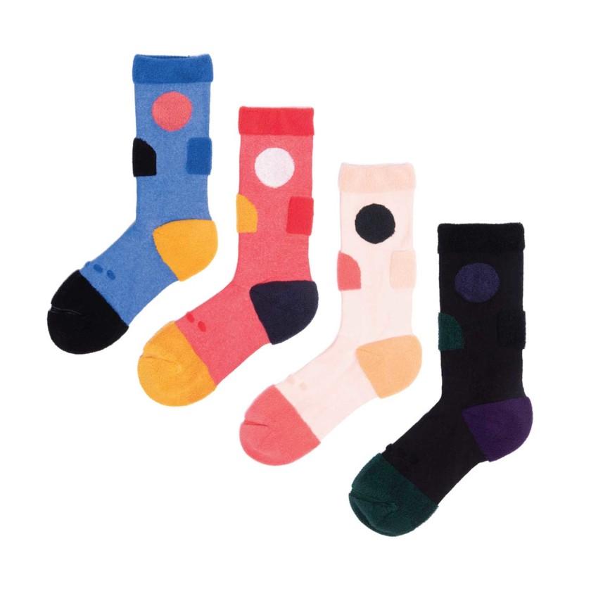My Inner Beauty : JIWA | Reversible Patterned Socks
