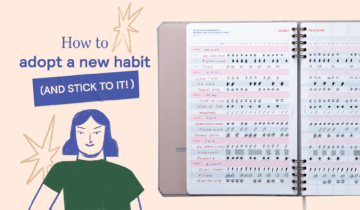 How to adopt a new habit (and stick to it!)